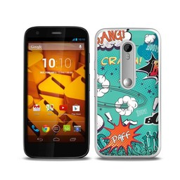 Motorola Moto G3 TPU hoesje Paff