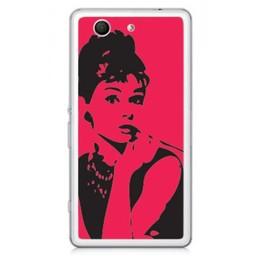 Sony Xperia Z3 Compact TPU hoesje Pink Girl