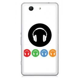Sony Xperia Z3 Compact TPU hoesje DJ