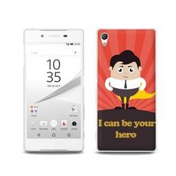 Sony Xperia Z5 TPU hoesje Hero