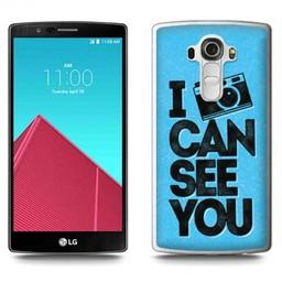 LG Optimus G4 TPU hoesje I can see you
