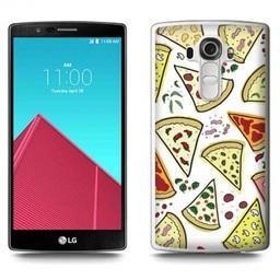 LG Optimus G4 TPU hoesje Pizza