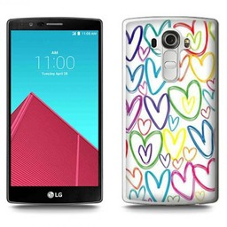 LG Optimus G4 TPU hoesje Hartjes