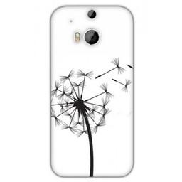 HTC Desire M8 TPU hoesje Wish Flower