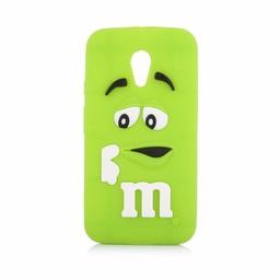 Motorola Moto G2 siliconen hoesjes M&M Groen