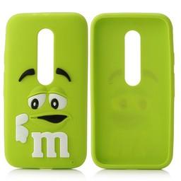 Motorola Moto G3 siliconen hoesjes M&M Groen