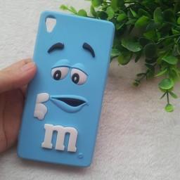 Sony Xperia Z3 siliconen hoesjes M&M Blauw