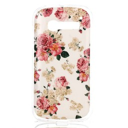 Alcatel Pop C5 TPU hoesje Flowers
