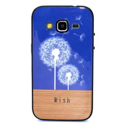 Samsung Galaxy Core Prime TPU Hoesje met gekleurde Bumper Wish