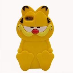 Iphone 5 (S) en 5C Siliconen hoesje Garfield