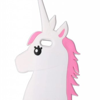 Iphone 4/4s Siliconen hoesjes Unicorn