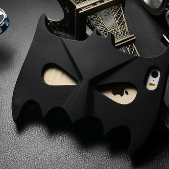 Iphone 6 Siliconen hoesjes Batman Mask