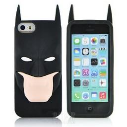 Iphone 5 (S) Siliconen hoesje Batman