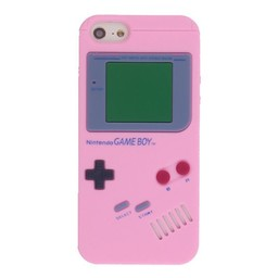 Iphone 5 (S)  Game Boy Licht rose