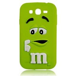 Samsung Galaxy Grand Neo siliconen hoesje M&M Groen