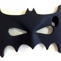 Iphone 4/4s Siliconen hoesjes Batman Mask