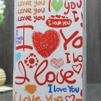 HTC Desire 816 TPU hoesje I love you