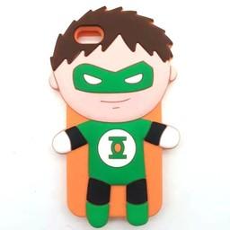 Iphone 5(S) en 5C Siliconen hoesje Cartoon superhelden Batman's Robin