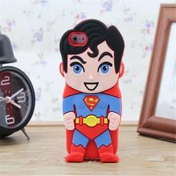 Iphone 4(S) siliconen hoesje Superhelden Superman