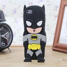 Iphone 4(S) siliconen hoesje Superhelden Batman