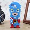Iphone 4(S) siliconen hoesje Superhelden Captain America