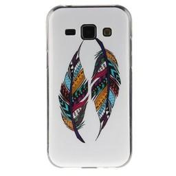 Samsung Galaxy J1 TPU hoesje Veertjes