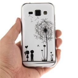 Samsung Galaxy J1 TPU hoesje Girl and Boy