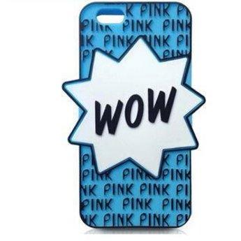 Iphone 6  hoesje  WOW Blauw