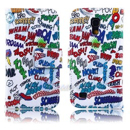 Samsung Galaxy S4 mini PU Lederen hoesjes BAM