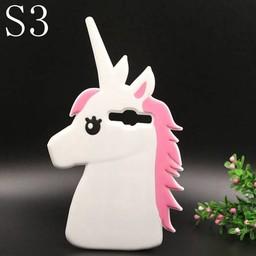 Samsung Galaxy S3 Siliconen hoesjes Unicorn