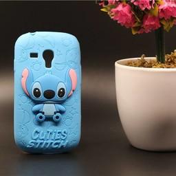 Samsung Galaxy S3 mini Siliconen hoesje Stitch