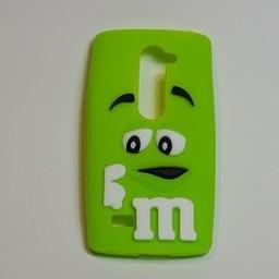 LG Leon 4G LTE siliconen hoesje M&M Groen