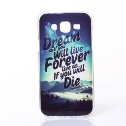 Samsung Galaxy J5 Siliconen hoesje Dream