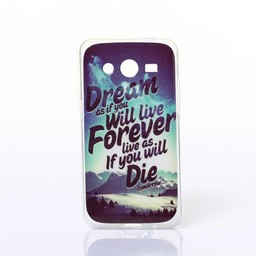 Samsung Galaxy Core 2 TPU hoesje DREAM