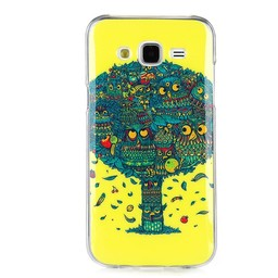 Samsung Galaxy J5 Siliconen hoesje Owl Tree