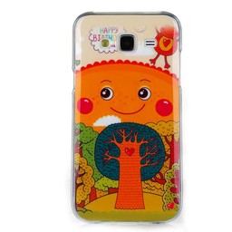 Samsung Galaxy J5 Siliconen hoesje Happy tree