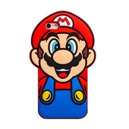 Iphone 6 (4,7 inch) siliconen hoesje Super Mario
