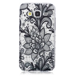 Samsung Galaxy Core Prime TPU hoesje Henna 1