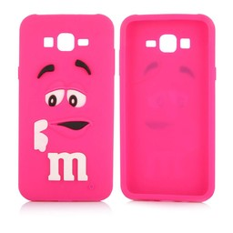 Samsung Galaxy J5 siliconen hoesjes M&M Rose