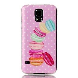 Samsung Galaxy S5 TPU Hoesje Macarons