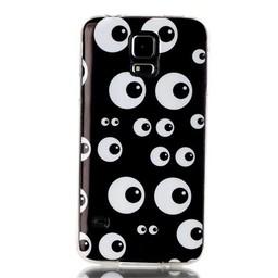 Samsung Galaxy S5 TPU Hoesje Eyes