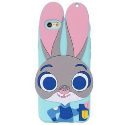 Iphone 5 (S) Siliconen hoesje Zootopia Judy