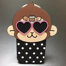 Samsung Galaxy S3 Siliconen hoesjes Monkey Dots