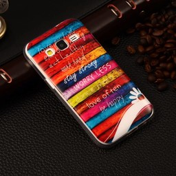 Samsung Galaxy Core Prime TPU hoesje Stay Strong