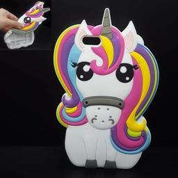 iphone 5 S /SE/5C  Unicorn Regenboog