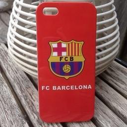 Iphone 5 (S) Siliconen TPU hoesje Barcelona