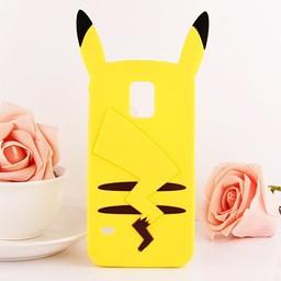 Samsung Galaxy S5 Siliconen hoesje Pokemon Pikachu