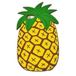 Iphone 5(S) en 5C Siliconen hoesje Pineapple