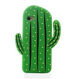 Iphone 5(S) en 5(C) Siliconen hoesje Cactus