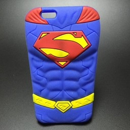 Iphone 5 (S) en 5C Siliconen hoesje Superman
